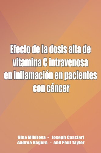 Effect of high-dose intravenous vitamin C on inflammation in cancer patients